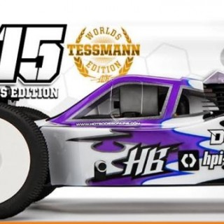 HPI HOT BODIES D815 KIT COMPETICIÓN